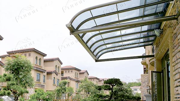 富诺尼华分析别墅雨棚安装要满足的技术性要求
