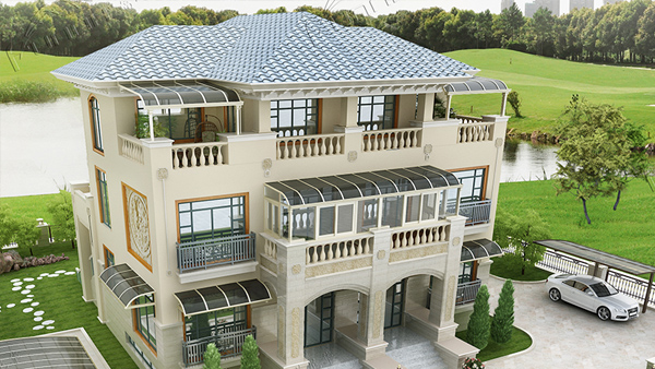 富诺尼华告诉您如何将别墅雨棚设计的更加合理化