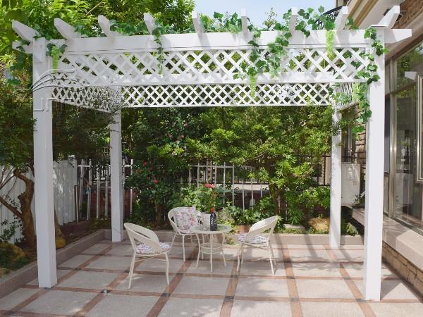 别墅小区庭院铝合金葡萄架 花架