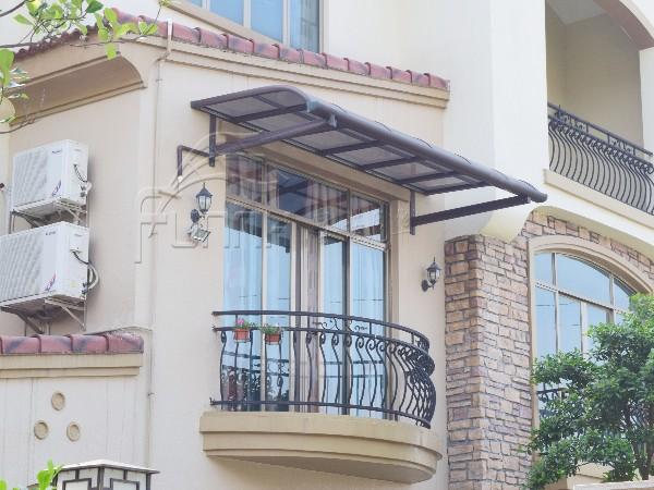 别墅铝合金雨棚  窗台棚