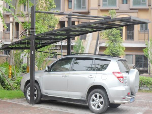 铝合金拉杆车棚