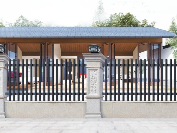 别墅花园铝艺围栏