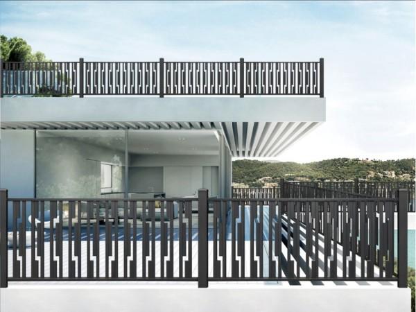别墅铝艺围栏