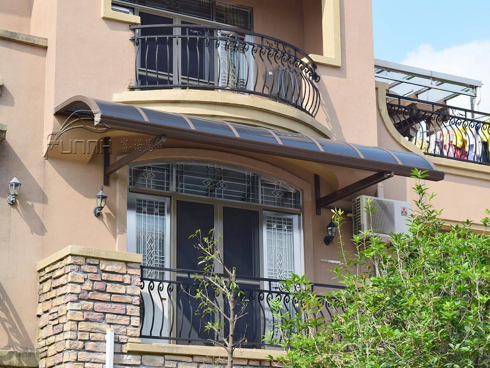 别墅铝合金窗台雨棚
