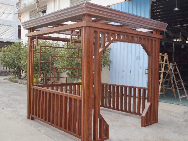 新款中式铝合金凉亭 园林景观休闲亭